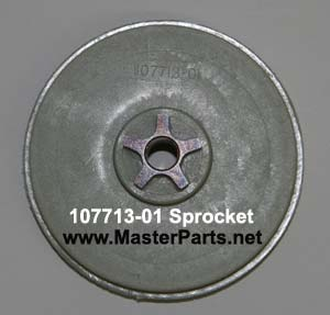 107713-01 Sprocket for Remington electric chainsaws