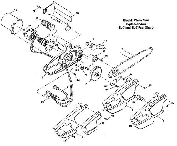 099370 Remington chainsaws and chainsaw parts picture @ www.PartsFor.com